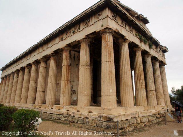 古代アゴラのヘファイストス神殿