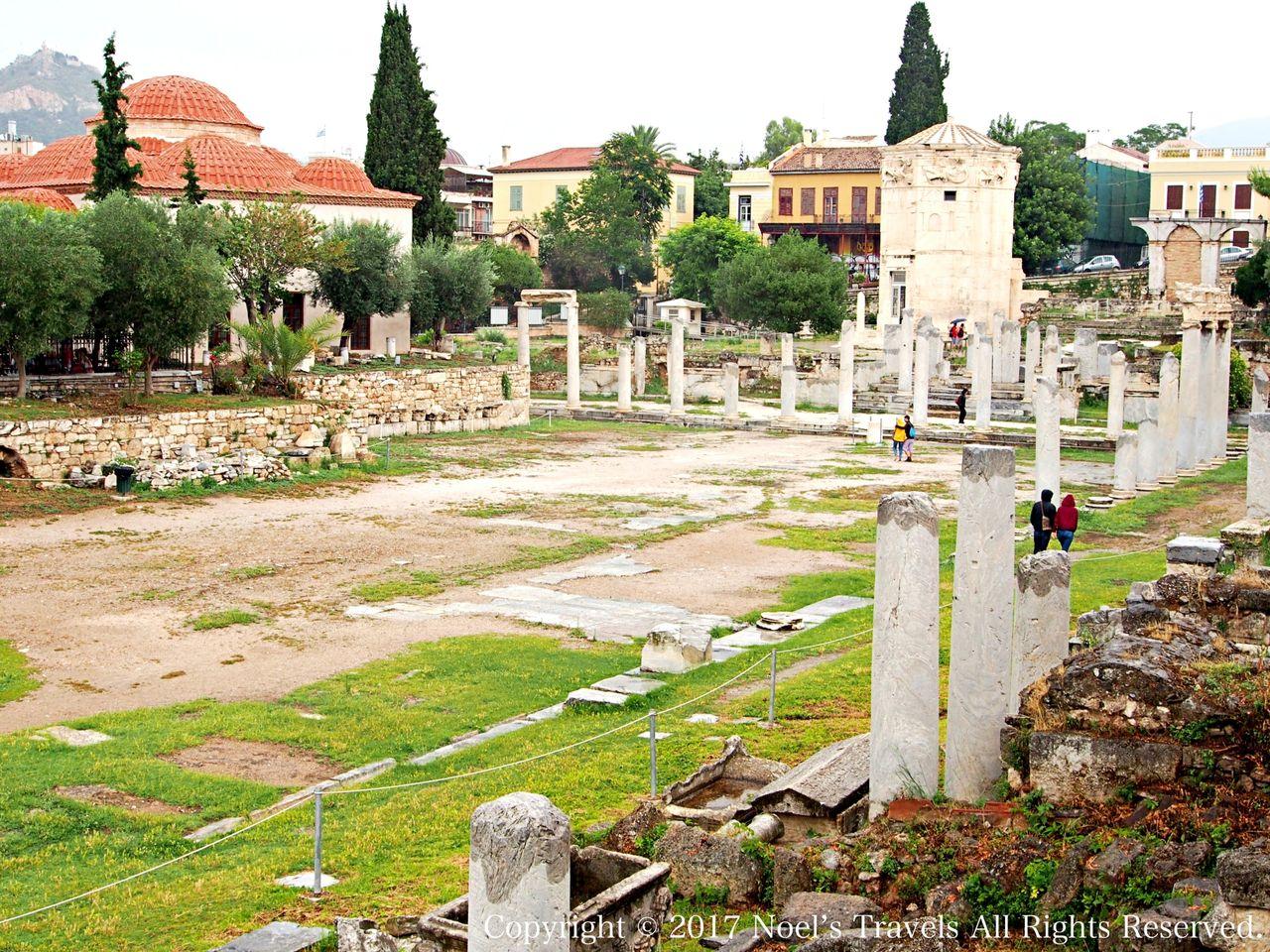 アテネのローマン・アゴラ