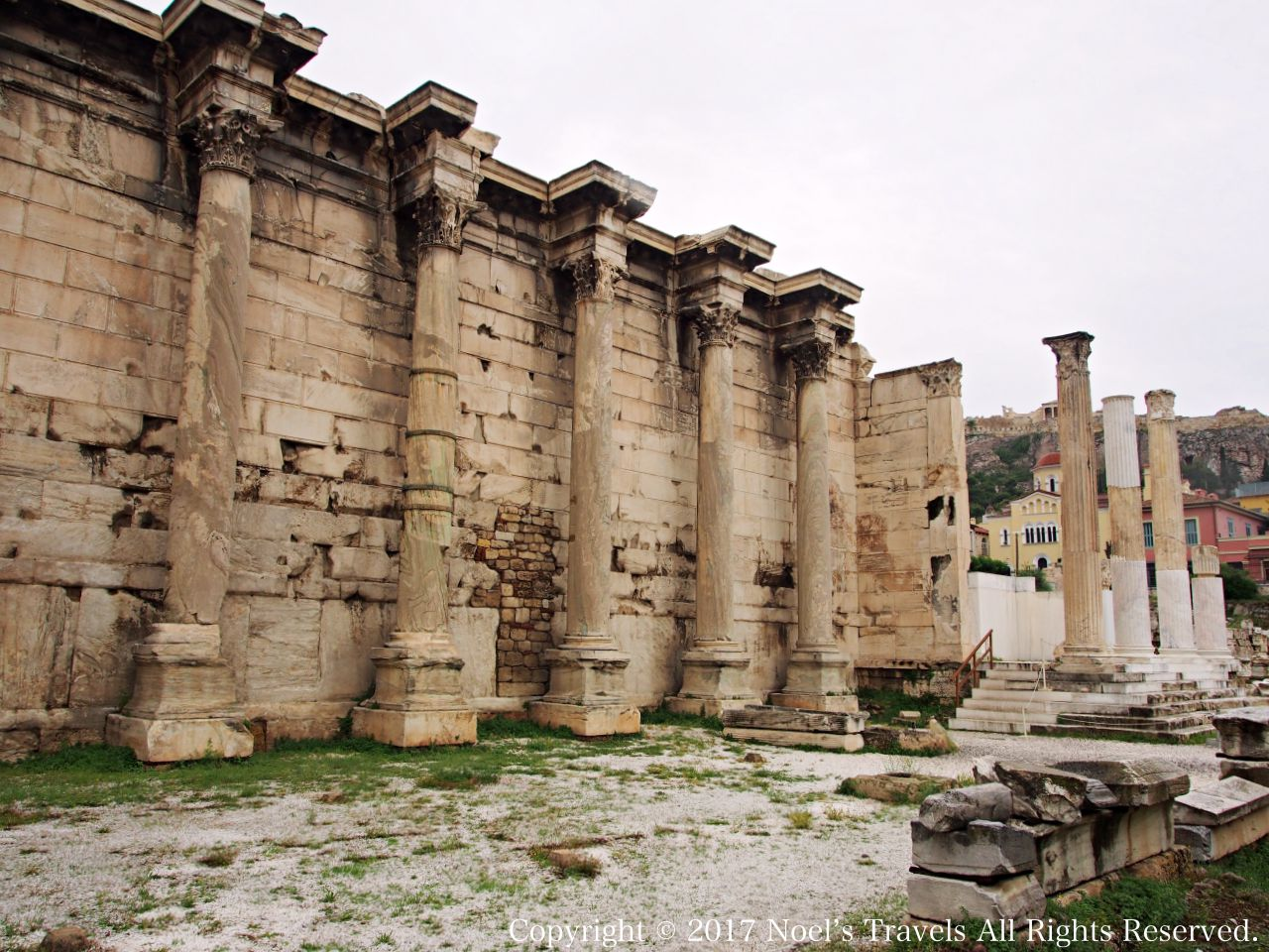 アテネのハドリアヌスの図書館