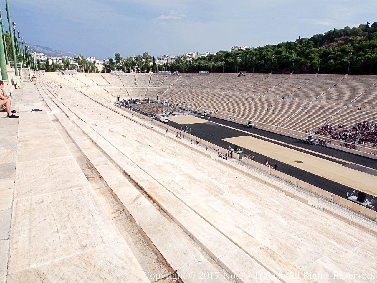 アテネのパナシナイコスタジアム