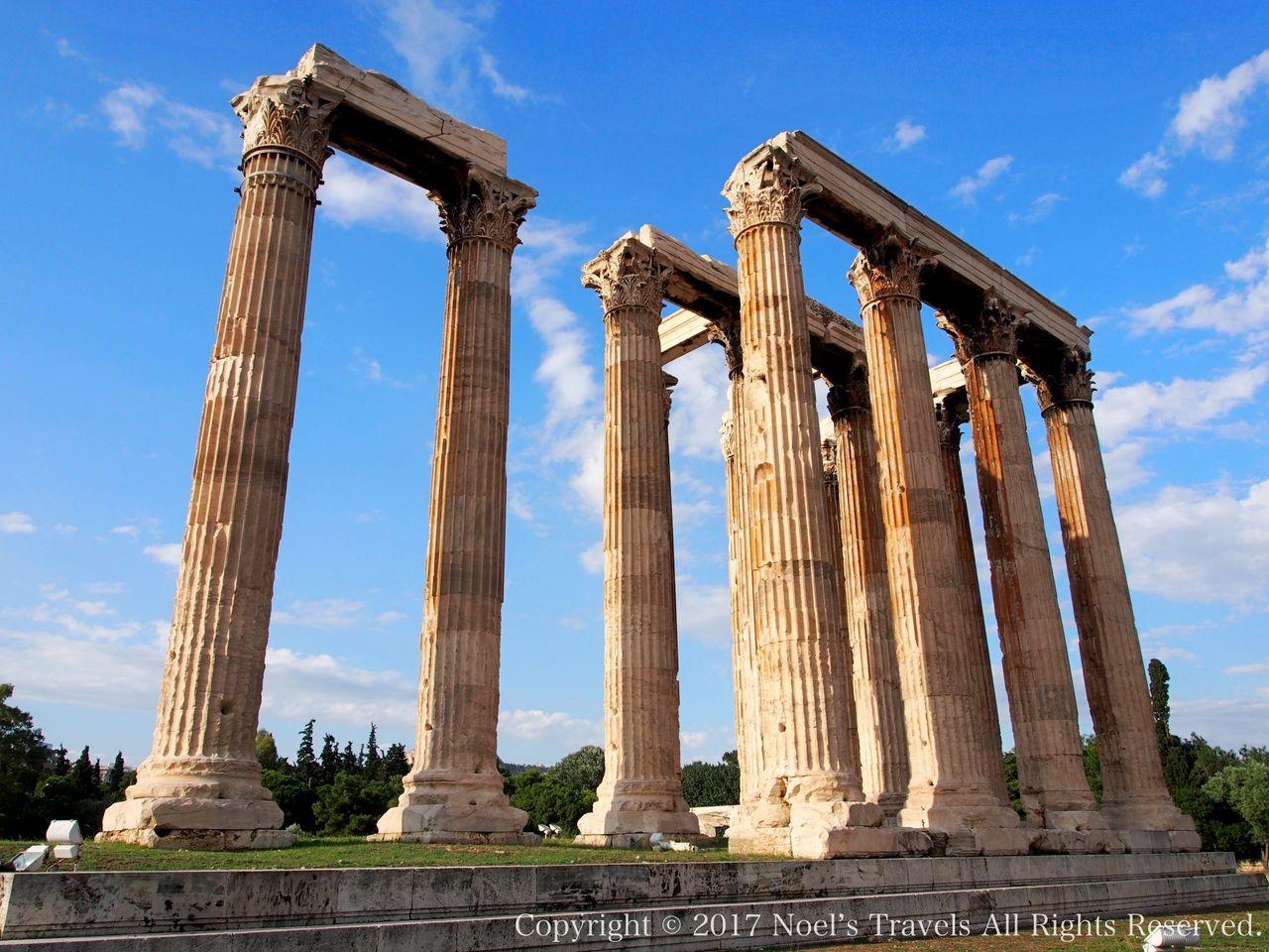 ギリシャのゼウス神殿