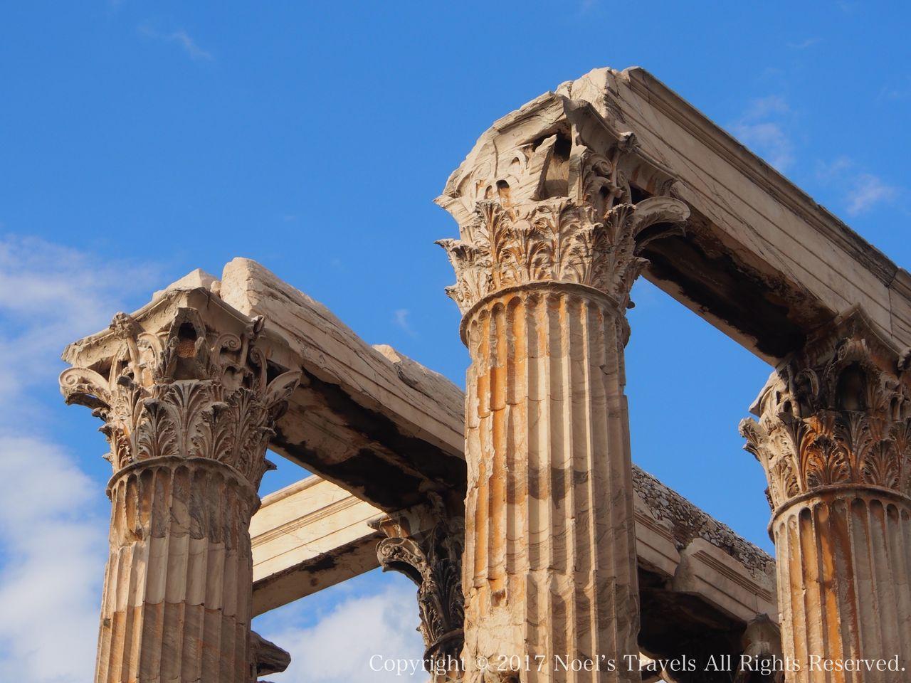 ゼウス神殿の柱