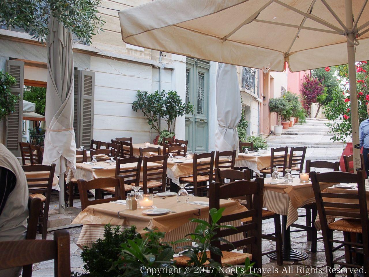アテネのレストラン ディオジェネス