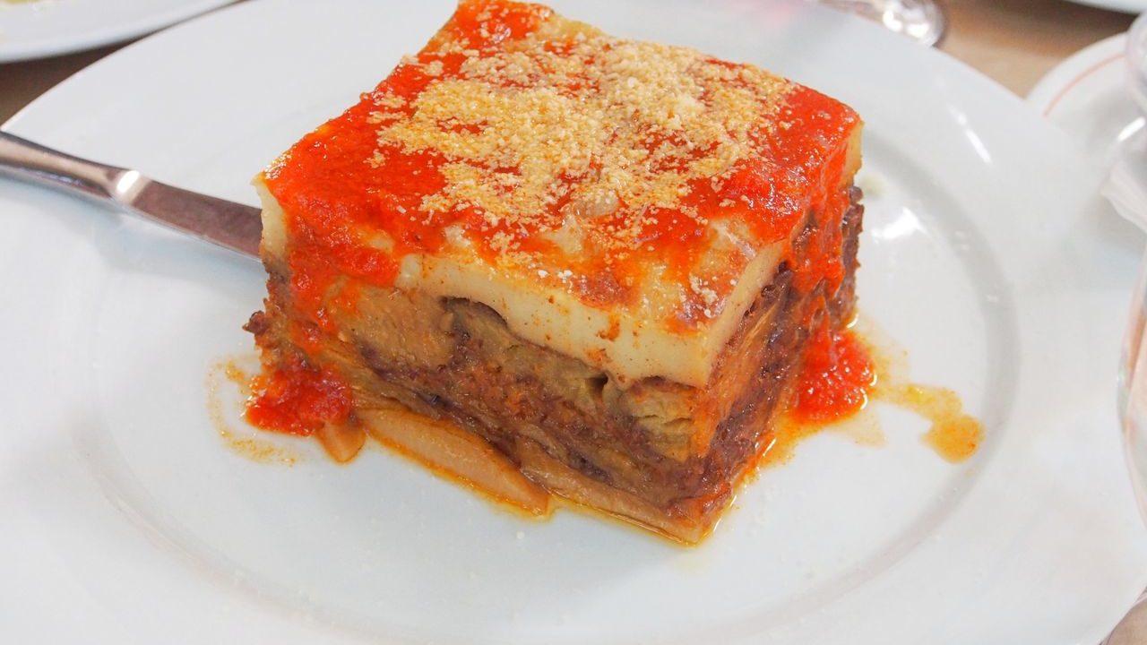ギリシャ料理「ムサカ」