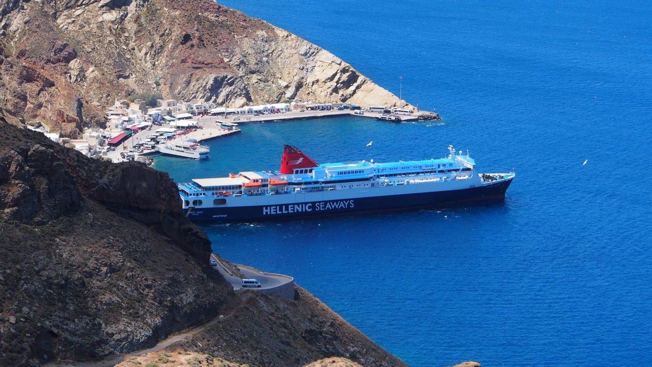 ギリシャのクルーズ船「Hellenic Seaways」