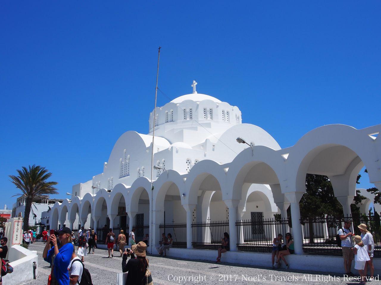 サントリーニ島フィラの大聖堂