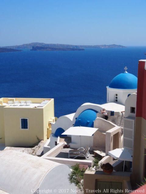 ギリシャ サントリーニ島のイア