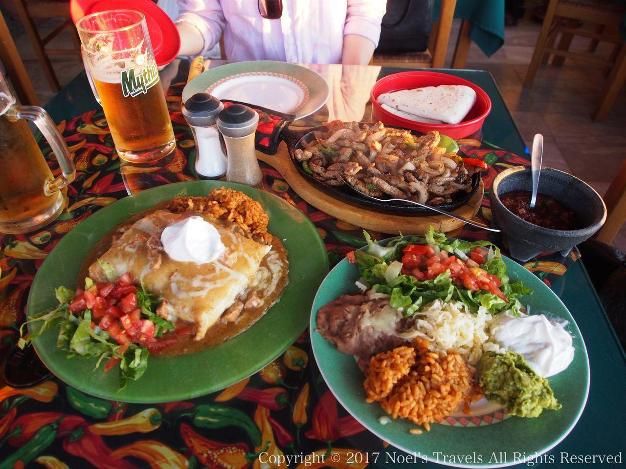 サントリーニ島のレストランSenor Zorba