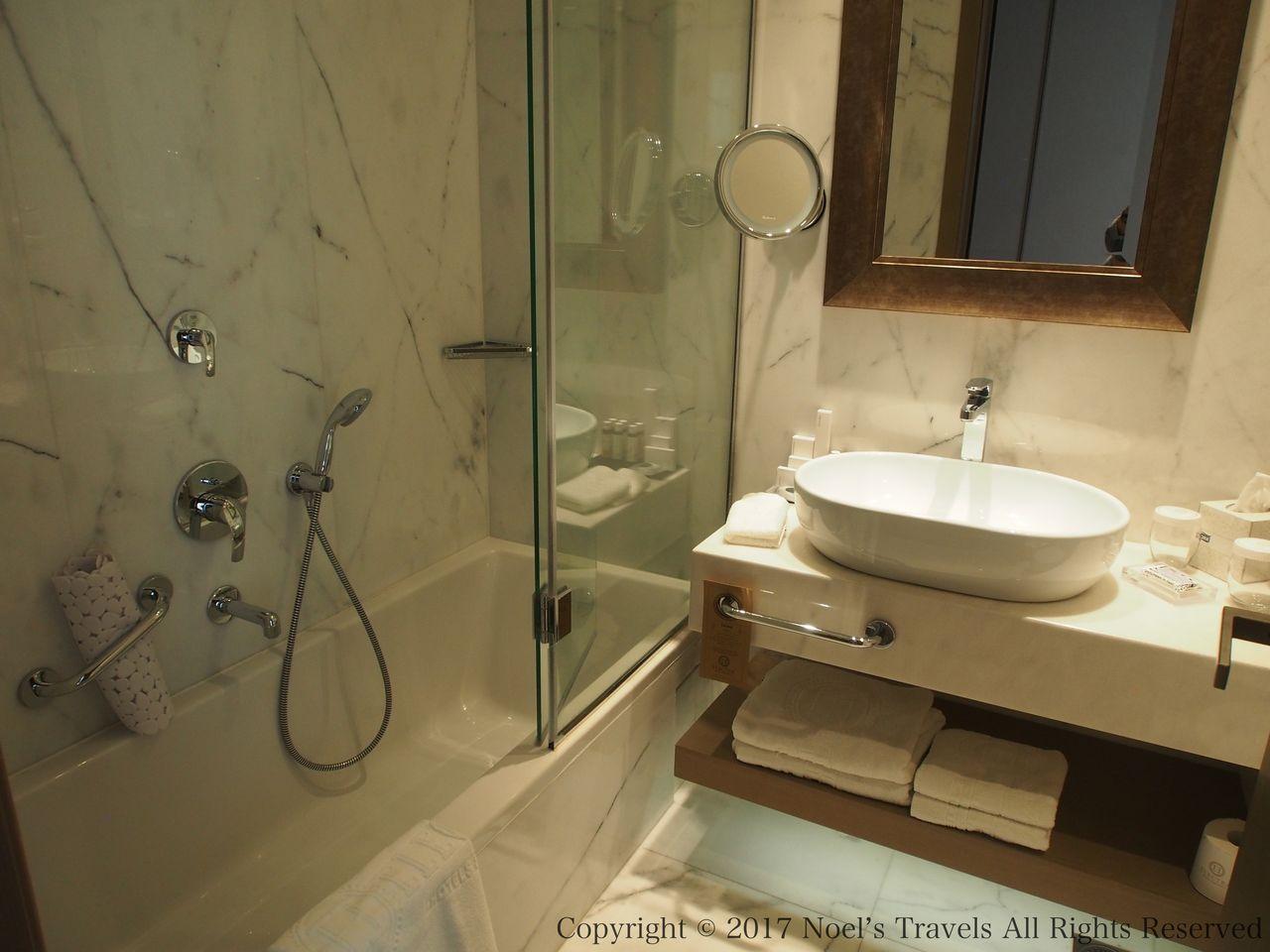 エレクトラ・メトロポリス・アテネのバスルーム