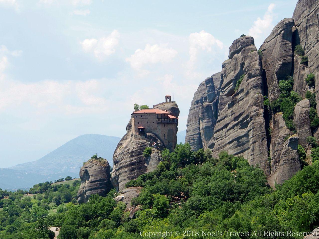メテオラのアギオス・ニコラオス修道院