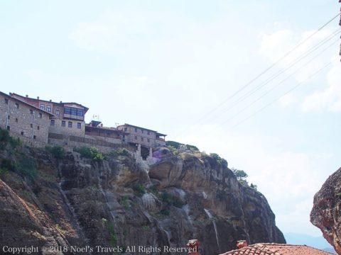 メテオラのメガロ・メテオロン修道院