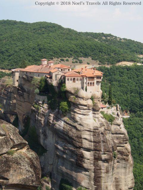 ギリシャのメテオラのヴァルラーム修道院