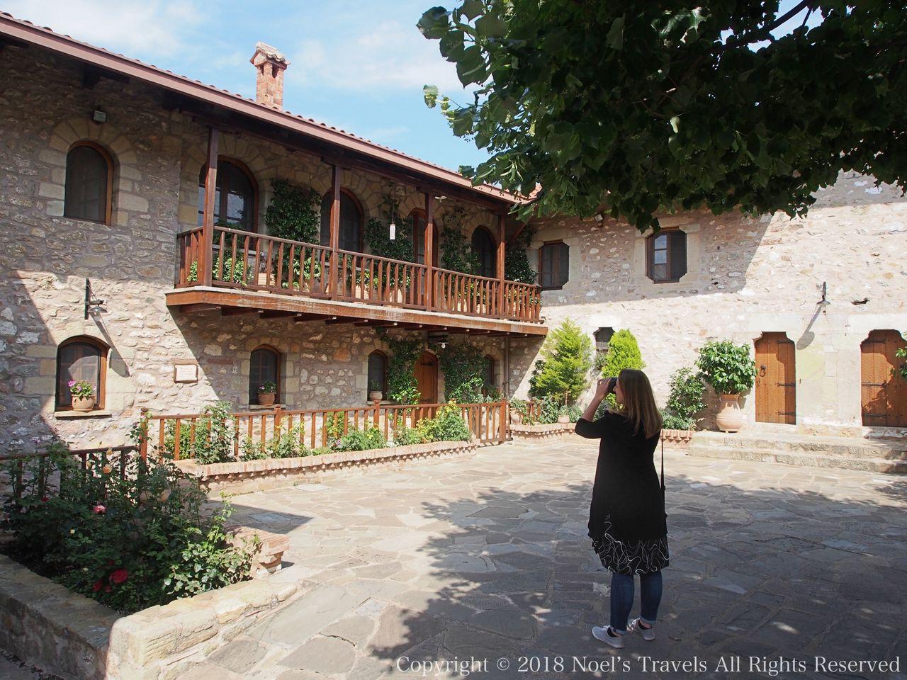 メテオラのアギオス・ステファノス修道院