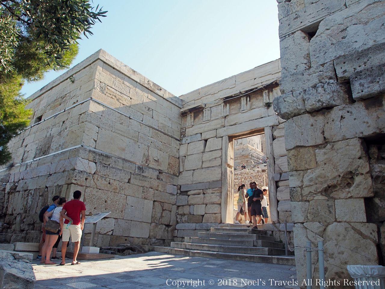 アクロポリスのブーレの門