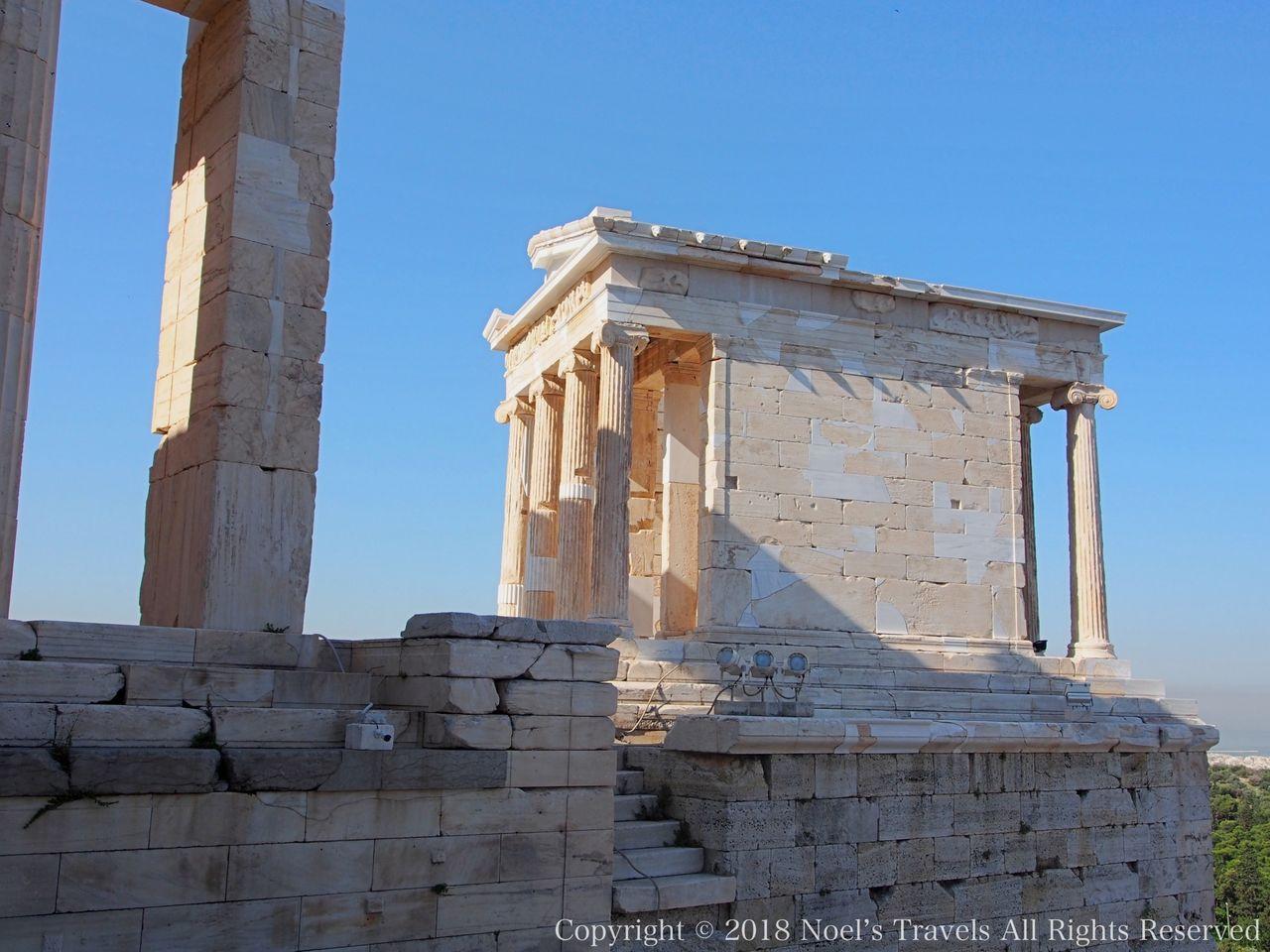 アクロポリスのアテナ・ニケ神殿