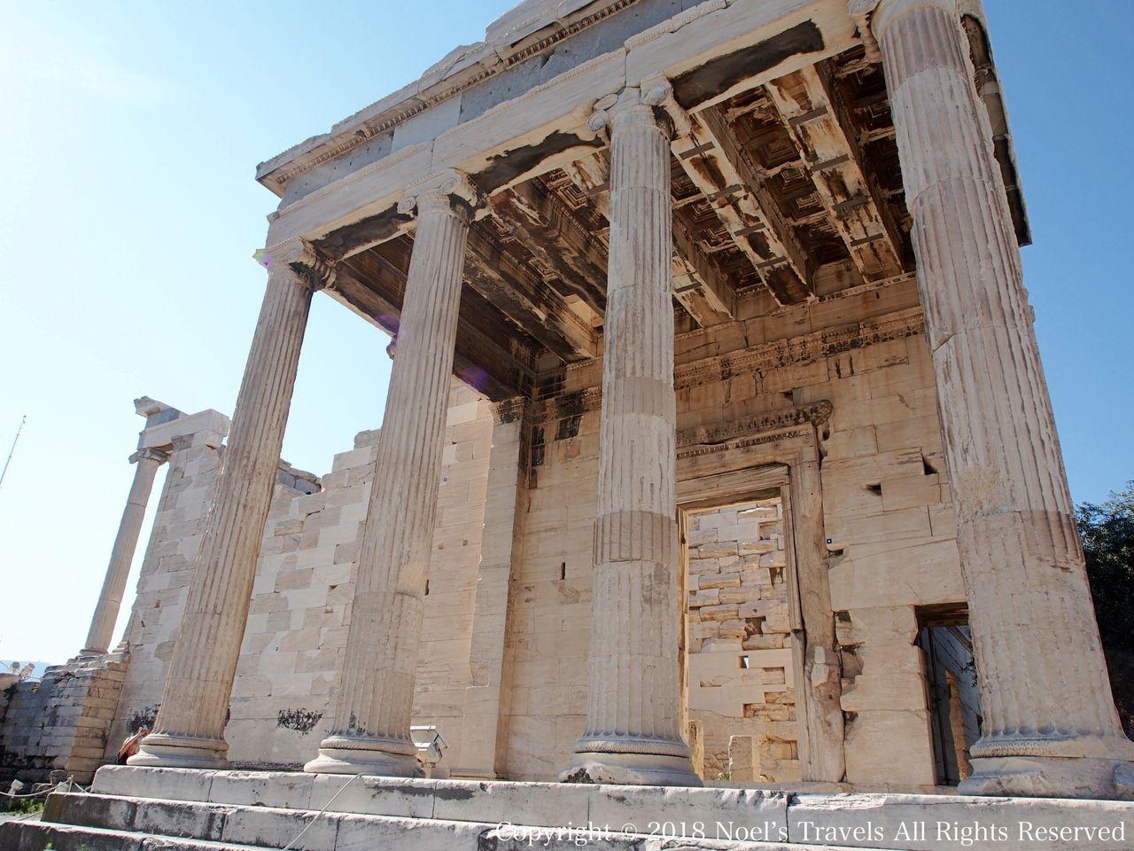 アクロポリスのエレクティオン