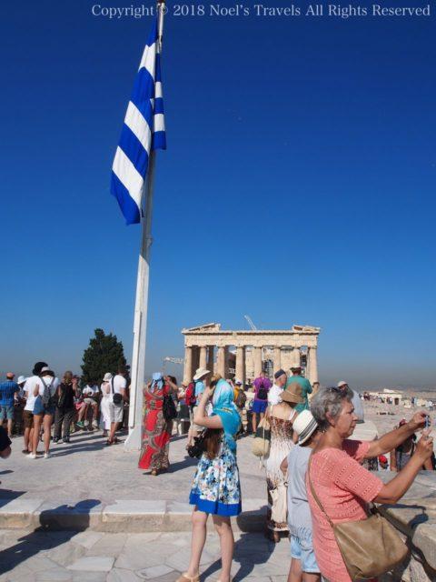 アクロポリスの展望台