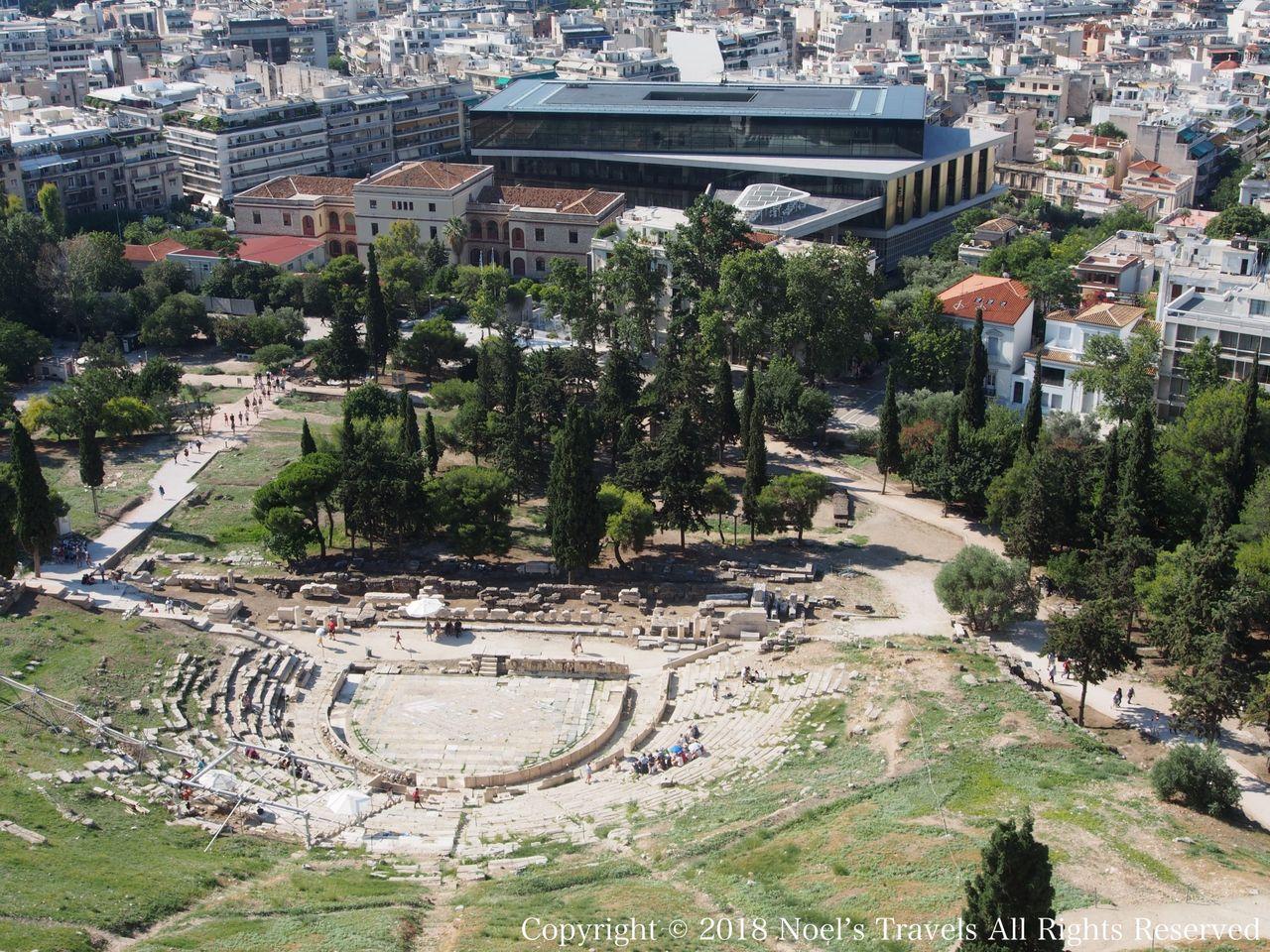 アテネのディオニソス劇場