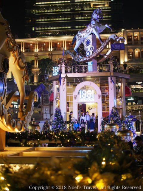1881ヘリテージのクリスマスイルミネーション