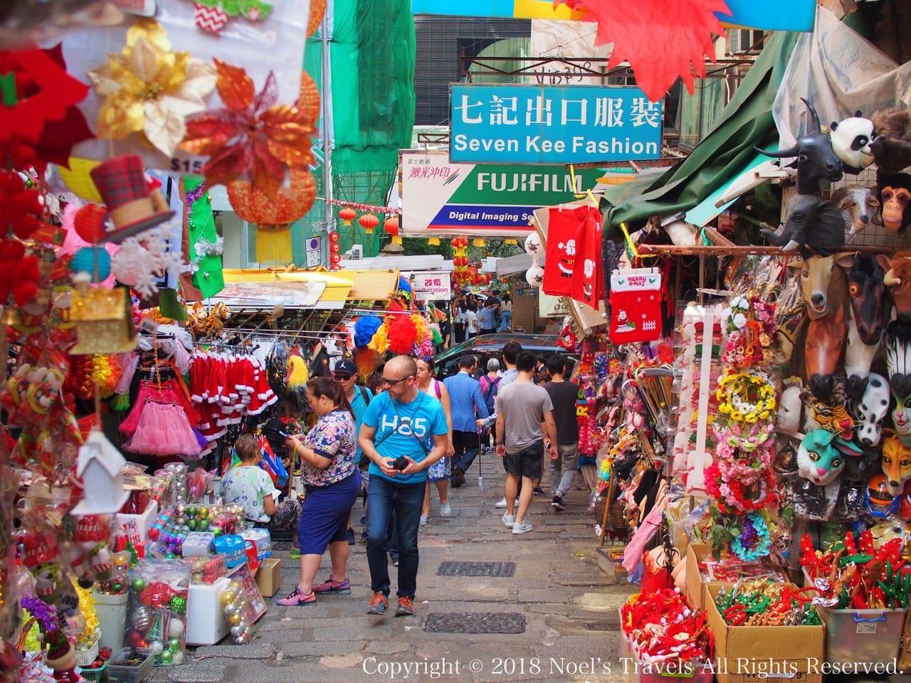 香港のポッティンジャー・ストリート
