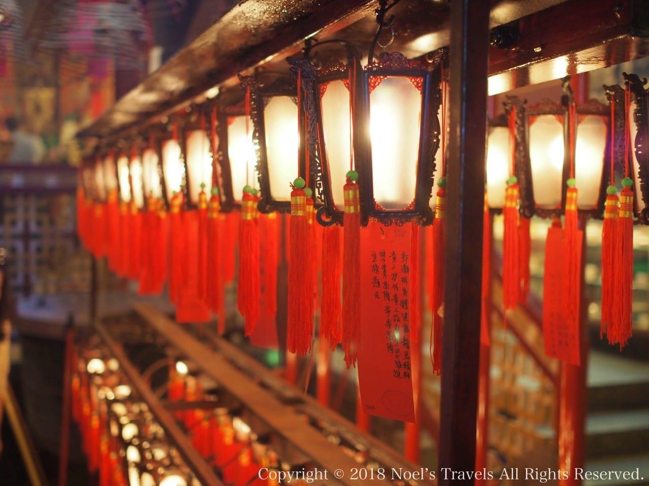 香港のパワースポット文武廟