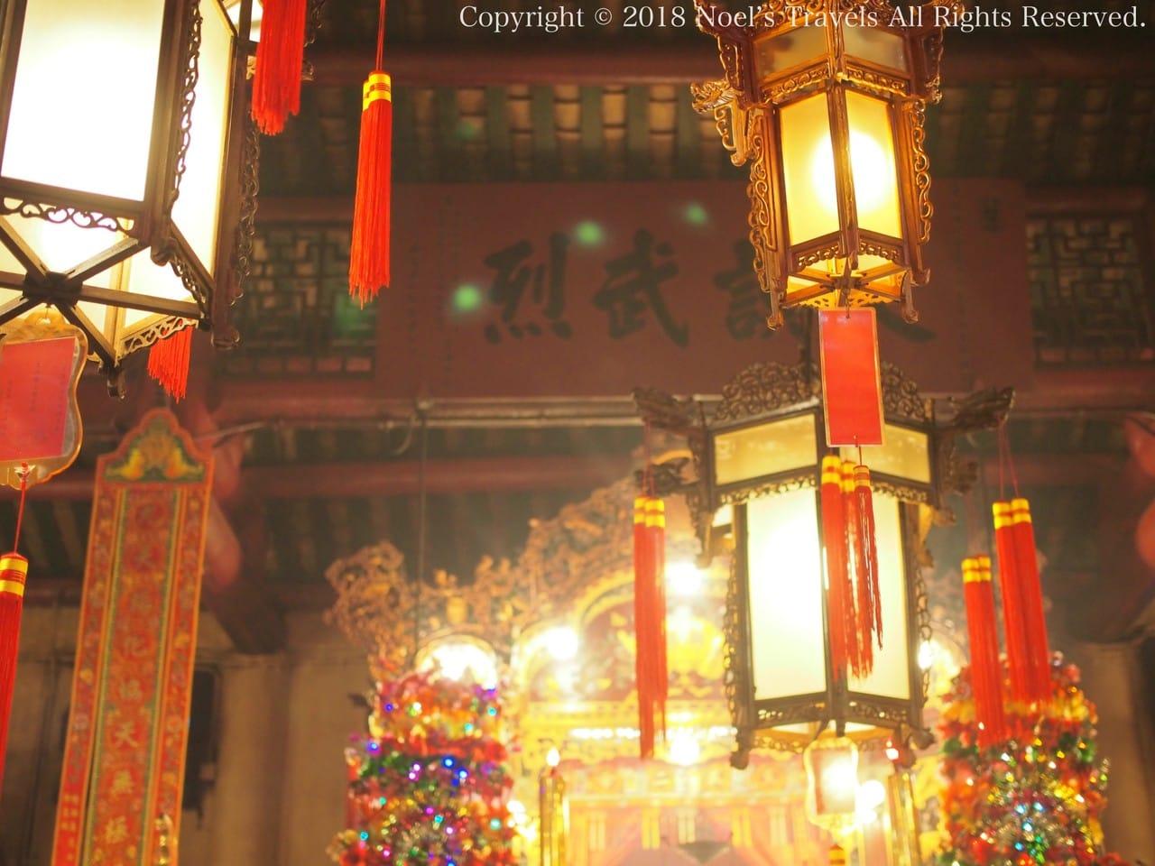 香港のパワースポット「文武廟」