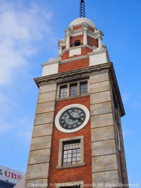 チムサーチョイの時計台