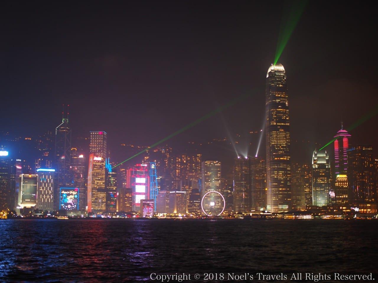 香港のシンフォニー・オブ・ライツ