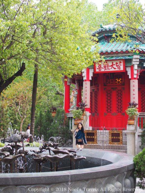 香港の黄大仙の盂香亭