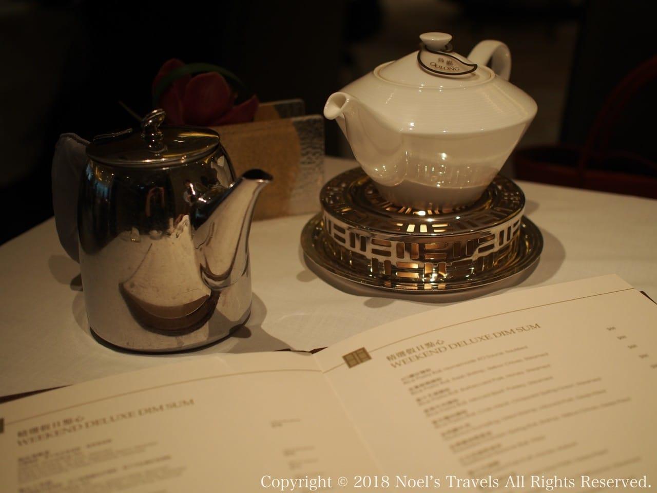 香港の明閣で飲茶