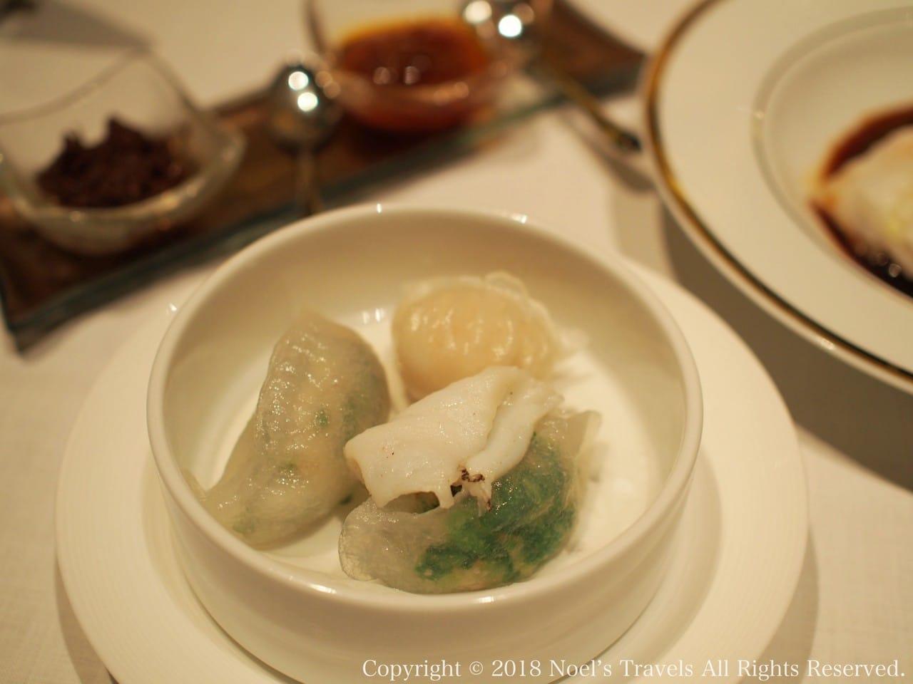 香港で食べた点心1「蒸し餃子」