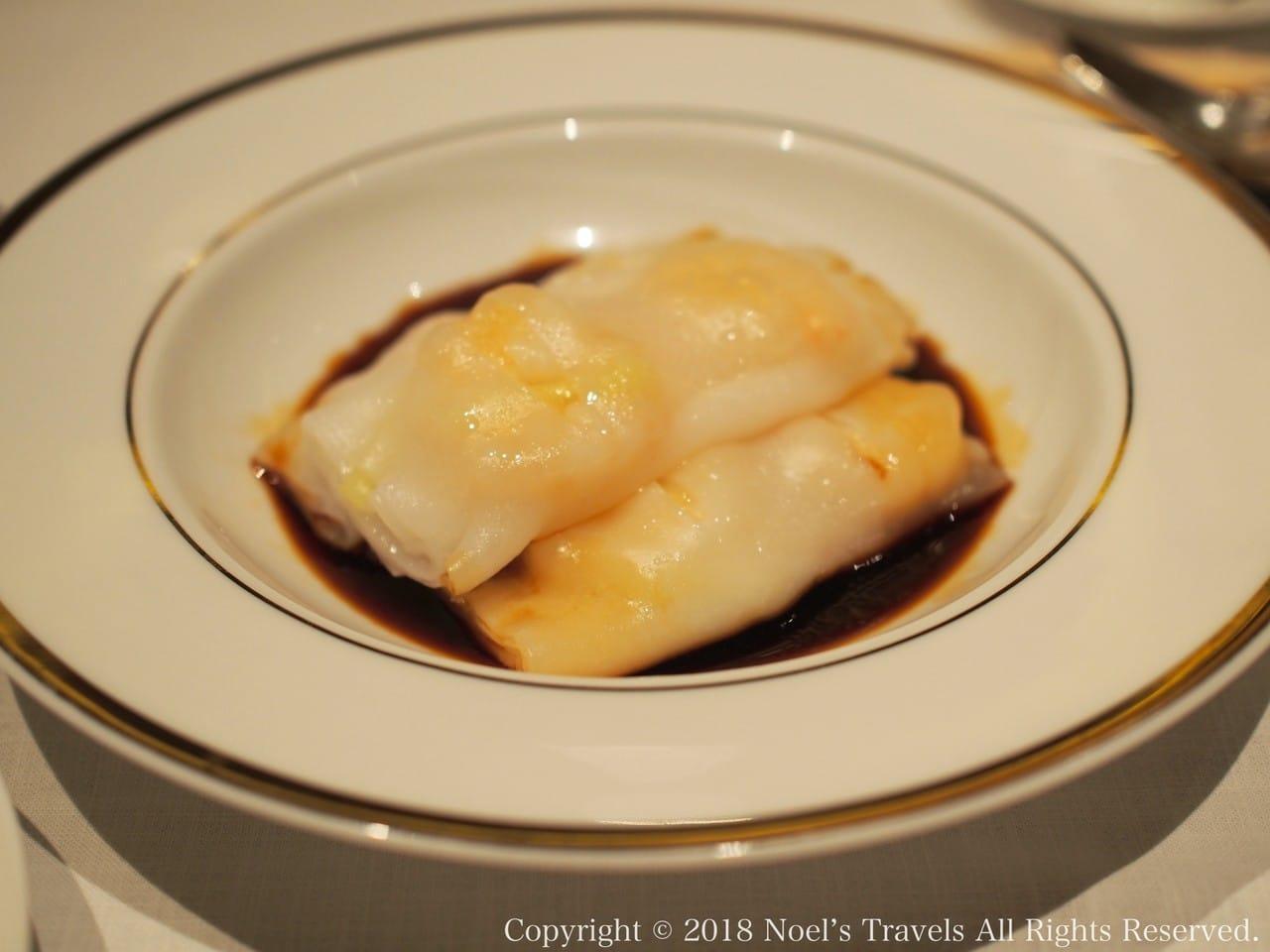 香港で食べた点心その2「腸粉」