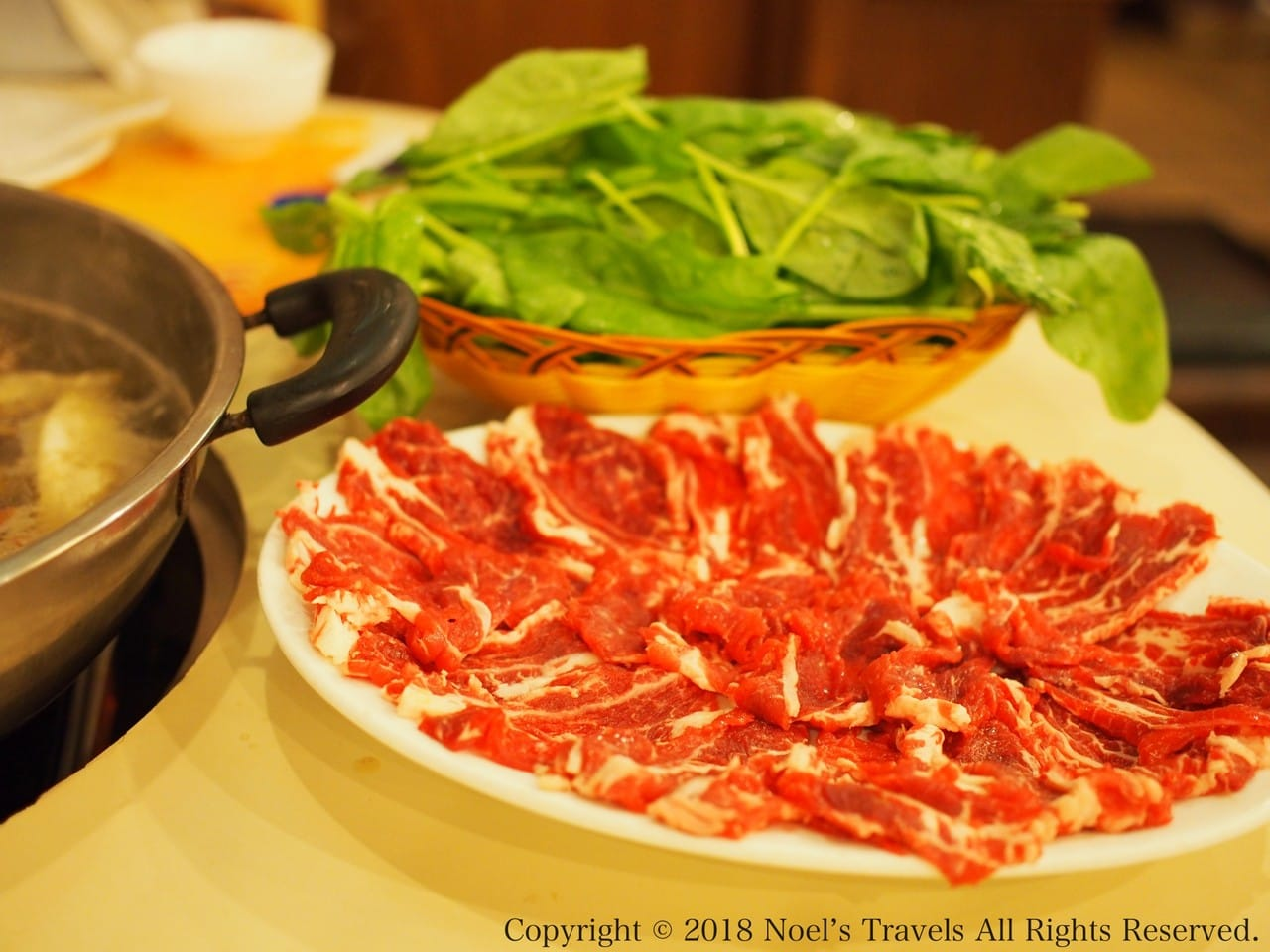 香港の四川料理店「三希楼」の火鍋