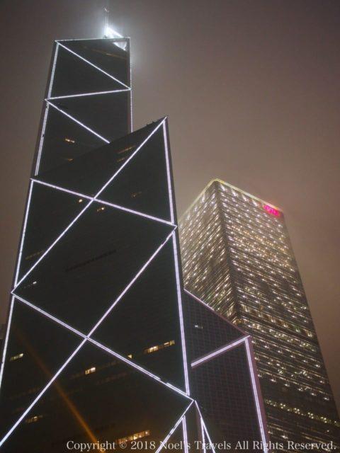 香港の中国銀行タワー