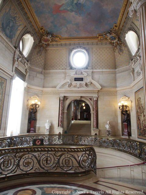 シャンティイ城のホール