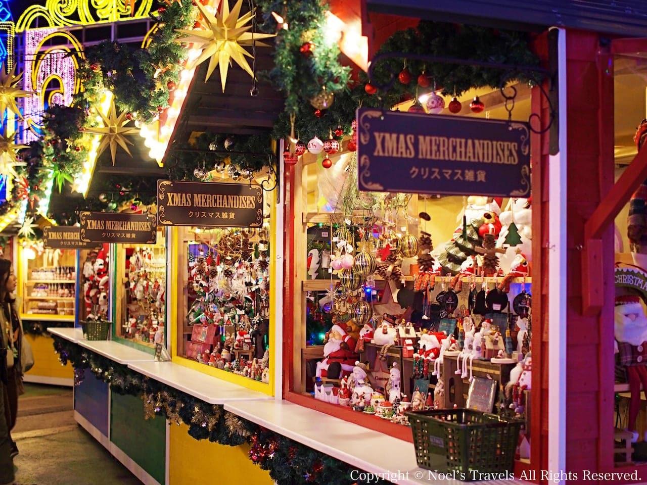 ハウステンボスのクリスマスマーケット
