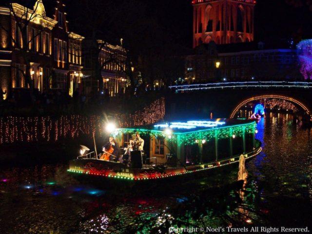 ハウステンボスの運河パレード