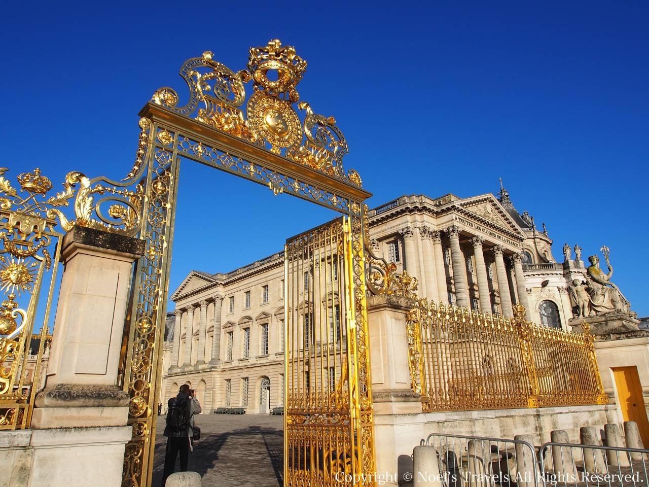 ヴェルサイユ宮殿の太陽門