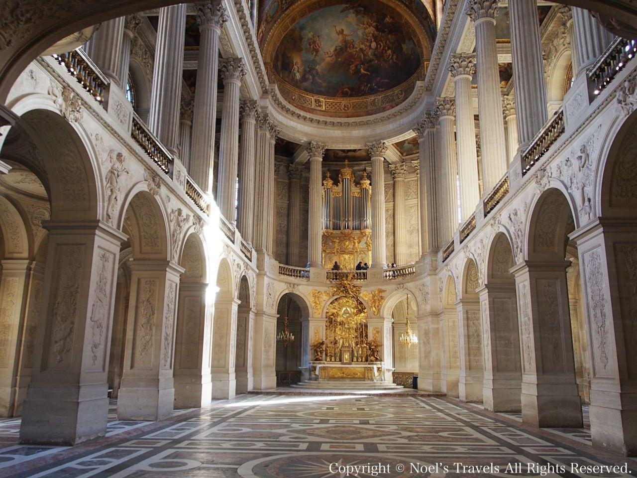 ヴェルサイユ宮殿の王室礼拝堂