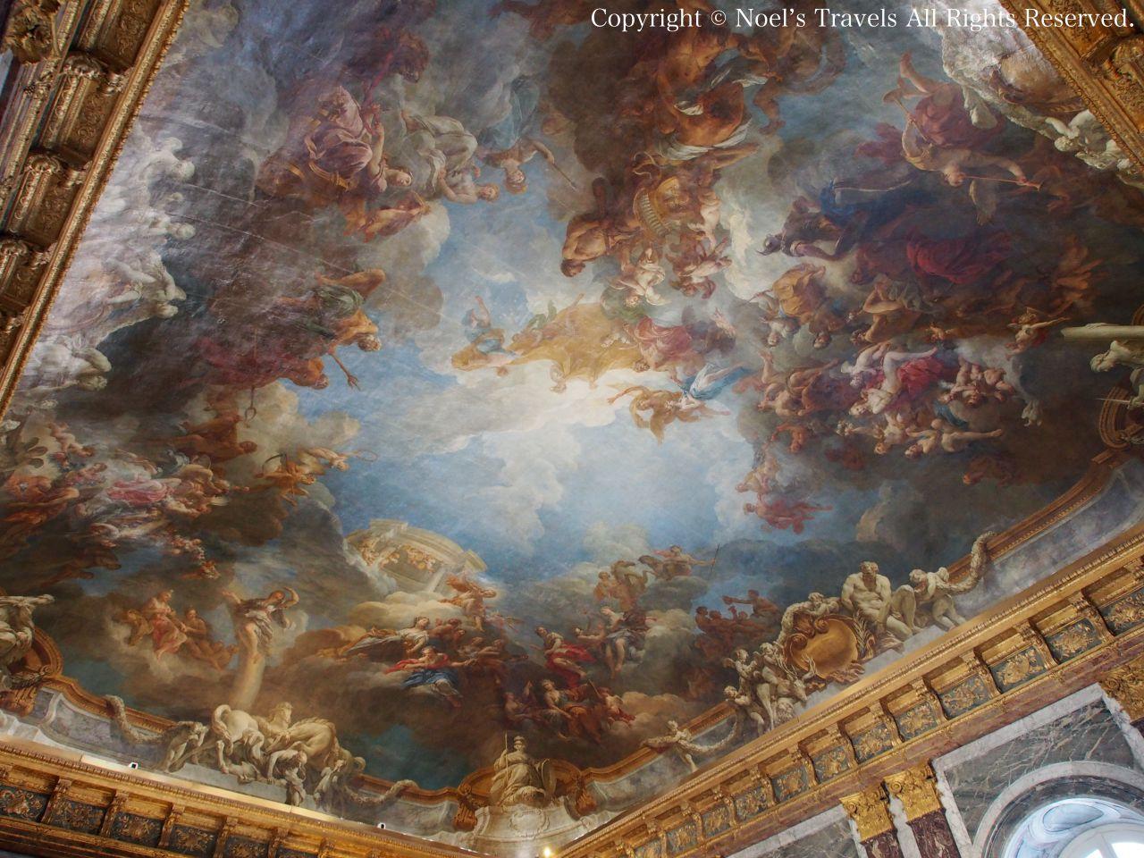 ヴェルサイユ宮殿の「ヘラクレスの神格化」