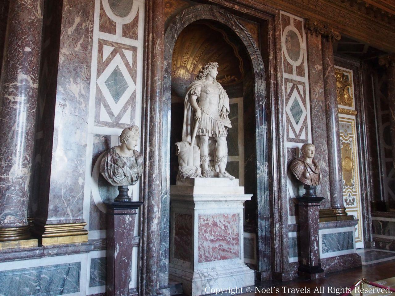 ヴェルサイユ宮殿の「ヴィーナスの間」