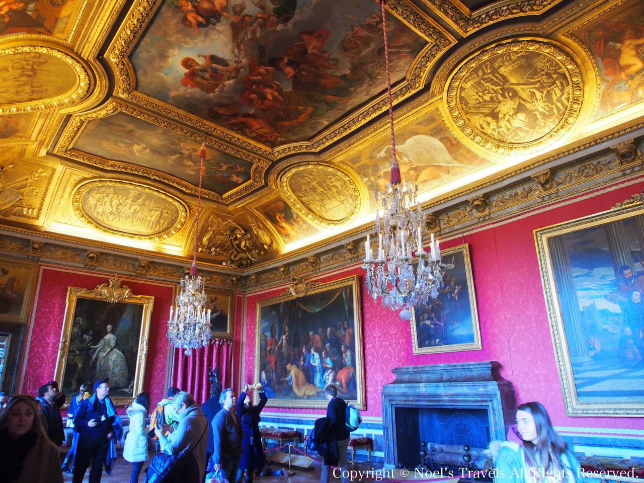 ヴェルサイユ宮殿のマルスの間