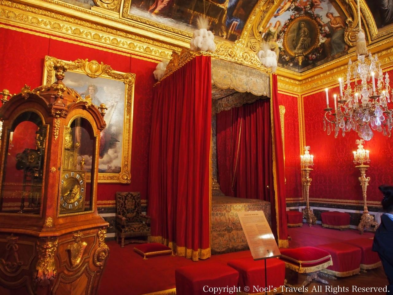 ヴェルサイユ宮殿のメルキュールの間