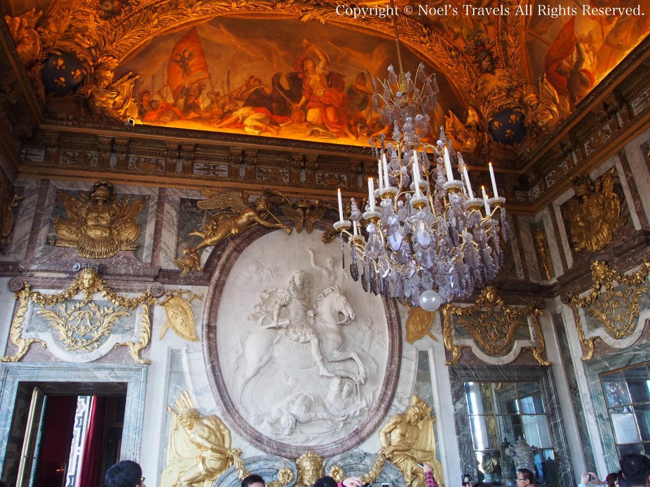 ヴェルサイユ宮殿の戦争の間