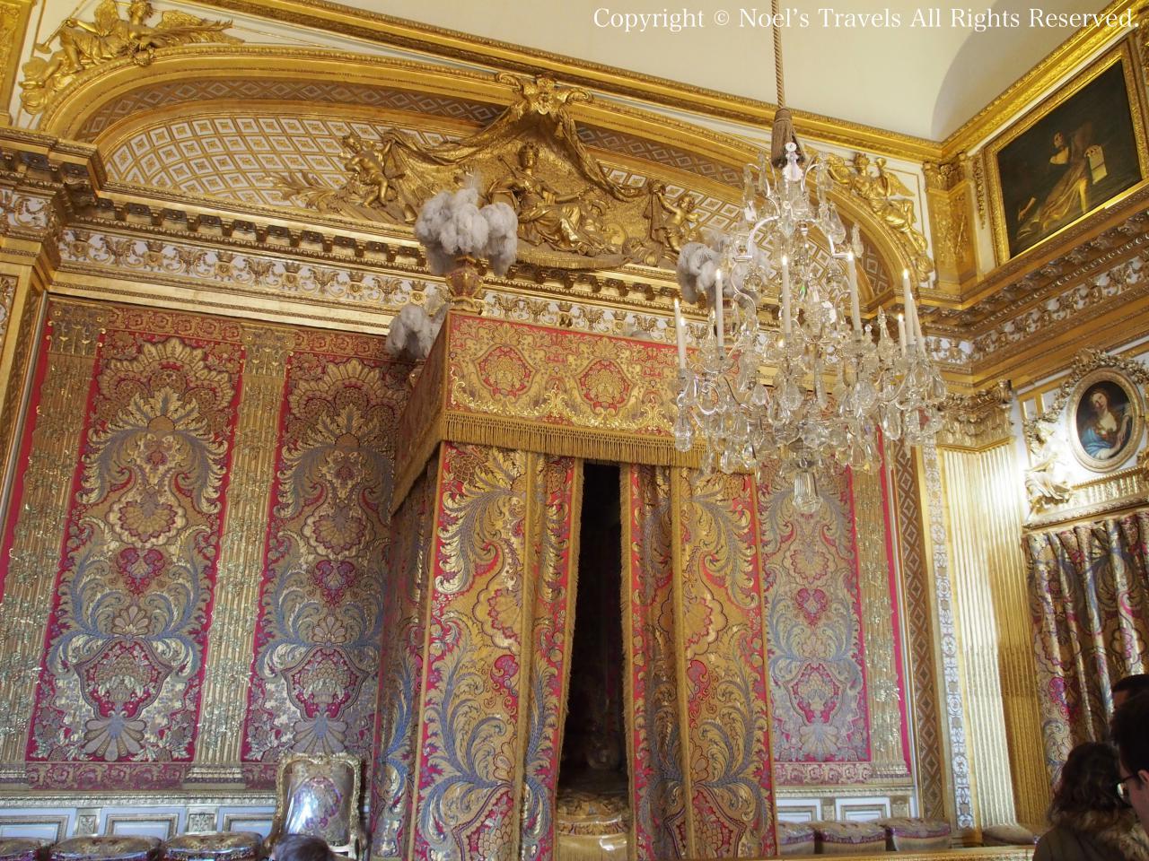 ヴェルサイユ宮殿の王の寝室