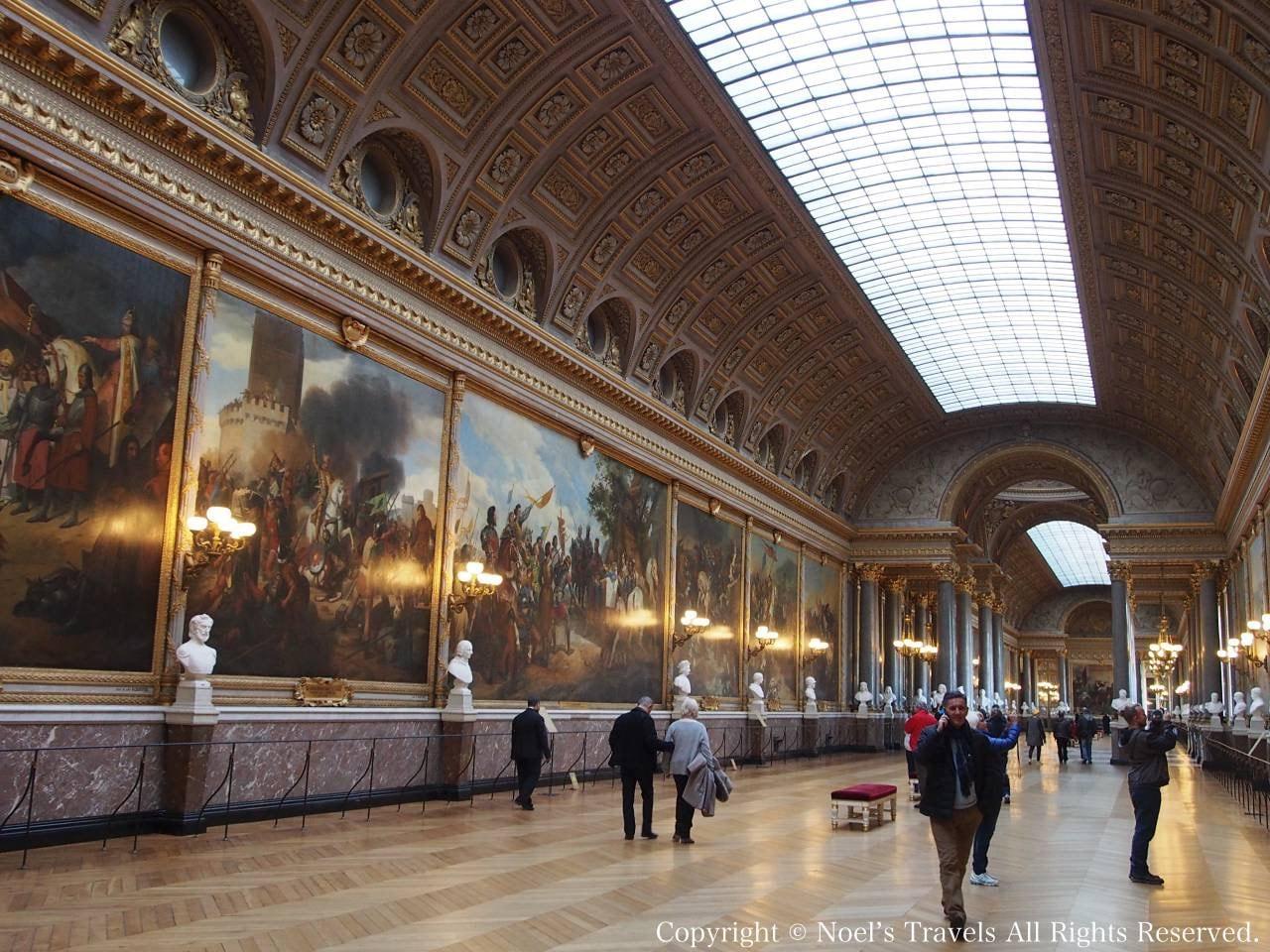 ヴェルサイユ宮殿の戦闘の回廊