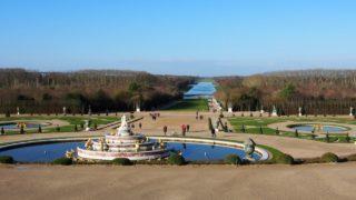 ヴェルサイユ宮殿の庭園