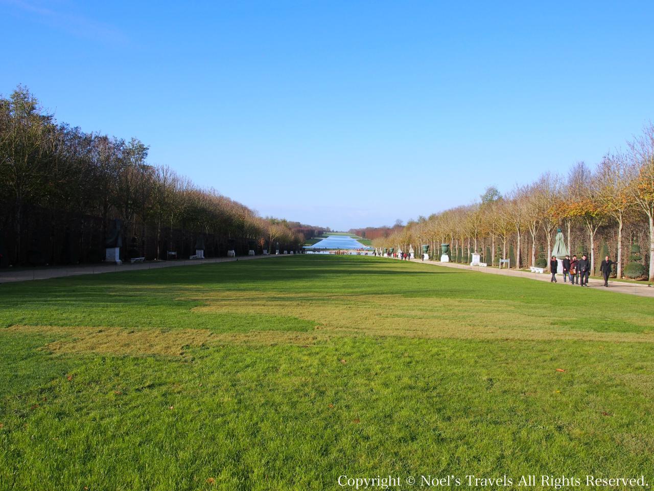 ヴェルサイユ宮殿の王の散歩道