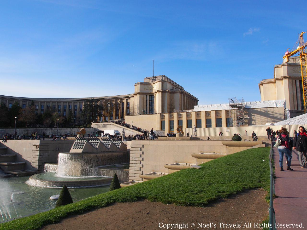 パリのシャイヨー宮