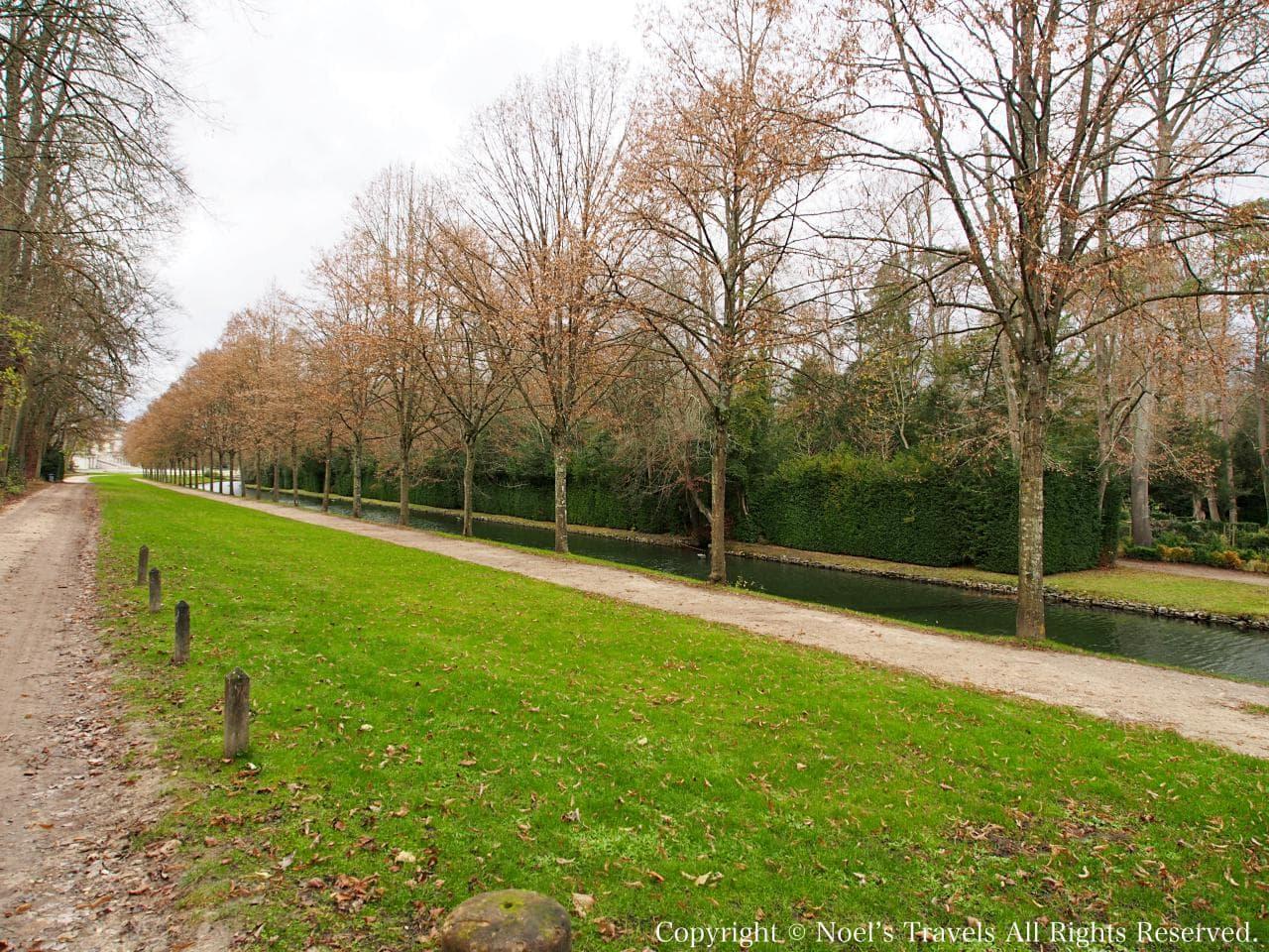 シャンティイ城の庭園「アングロ=チャイニーズ・ガーデン」
